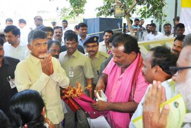 Chandrababu Naidu meets tech giants' executives, seeks investments in Andhra Pradesh