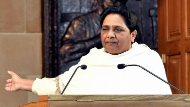 Modi dabbling in cheap politics after civic polls: Mayawati
