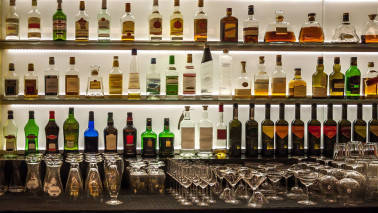 Liquor stocks on a high in today's trade. Do you own any?