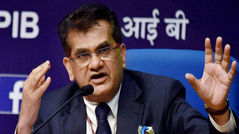 Physical banks will perish in the next 5-6 years: Niti Aayog CEO Amitabh Kant