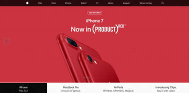 New from Apple: Brighter iPad, red iPhone 7, more storage for SE