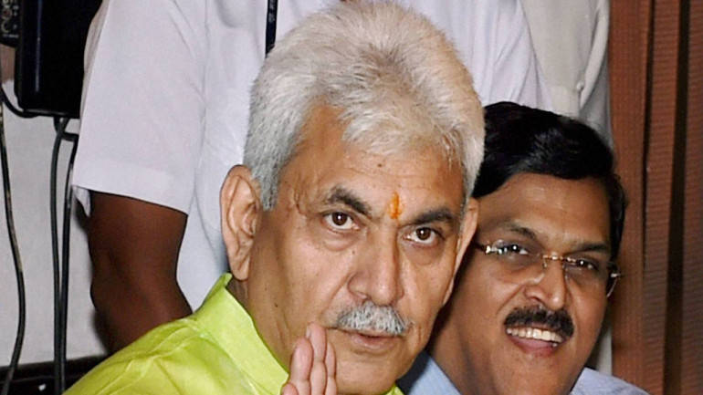 Telecom minister Manoj Sinha says he's not in running for UP CM post