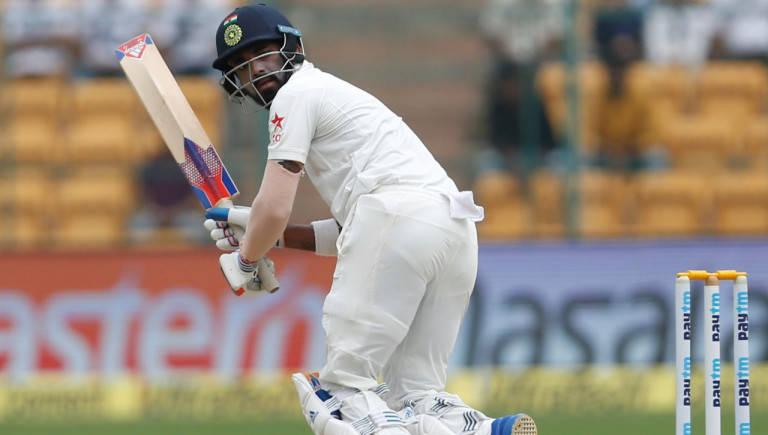 Dhawan hits ton as India reach 235/3 at tea