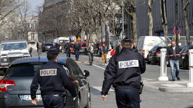 Eight injured in French school shooting, one arrested - sources