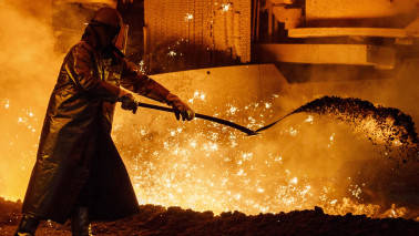 Monnet Ispat jumps 11% as steel giants, PE firms submit bids to acquire company