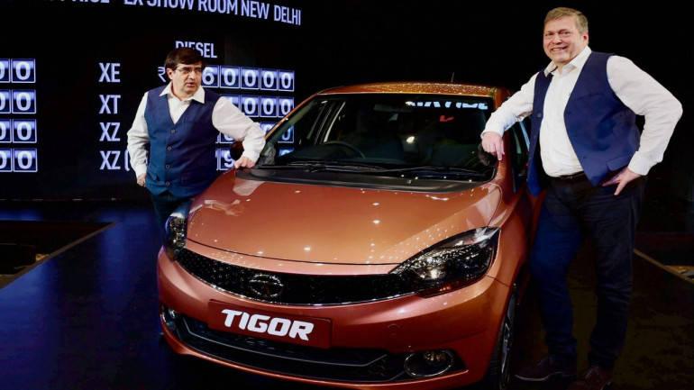 Tata Motors launches Tigor in Nepal