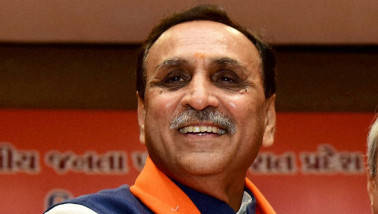 Vijay Rupani files nomination from Rajkot (West), slams Congress