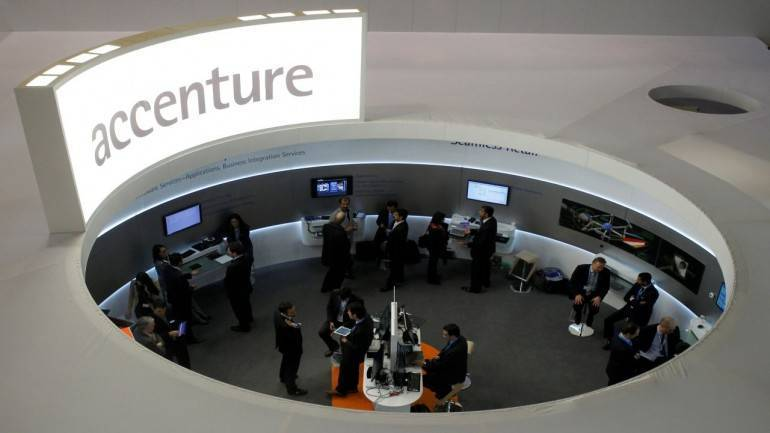 Accenture#39;s third-quarter revenue beats estimates