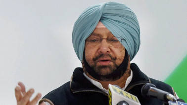 Captain Amarinder Singh sworn in as 26th Chief Minister of Punjab