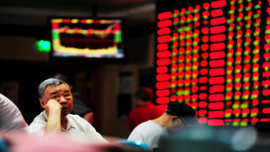 Asian markets fall as safe-haven yen climbs