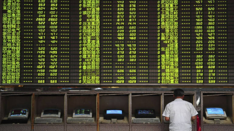 Asian markets trade higher as markets await political developments in Europe