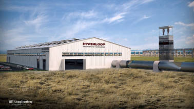 Hyperloop Transportation Technologies begins capsule construction for delivery in early 2018