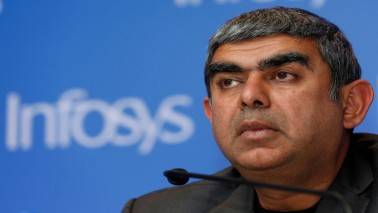 Infosys' top-level exits might not be a problem yet, but slowing growth is