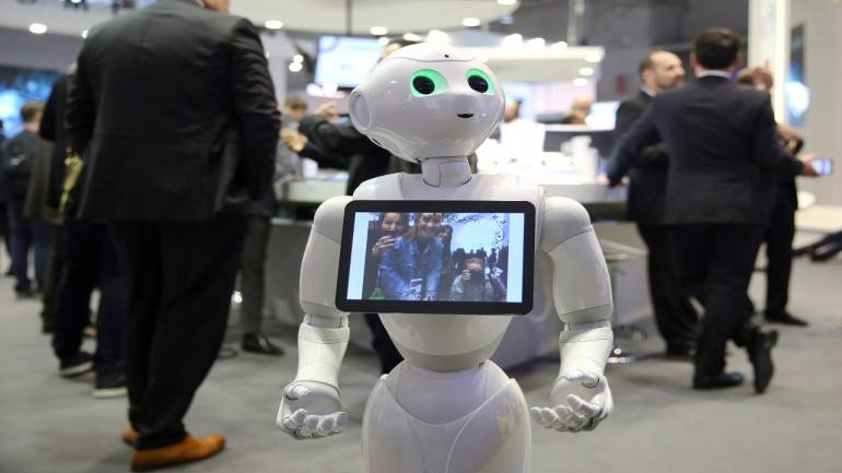 """the future of artificial intelligence and robotics Technology boffins have created a robot that can """"see into the future."""