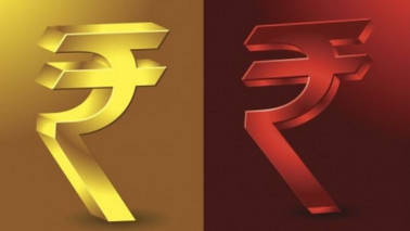 Rupee weakens again to finish the day at 64.25 against the dollar