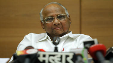 Sharad Pawar shown black flags by BJP workers in Baramati