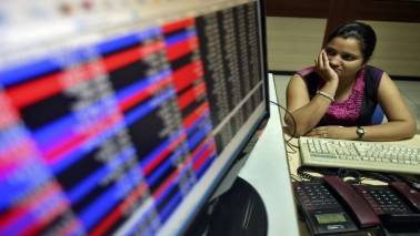 Trump policy worries drag Sensex 318 pts, Nifty below 9100; ITC, ICICI Bank sink