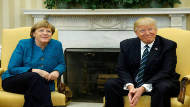 Trump, Merkel discuss Syria, Yemen and North Korea