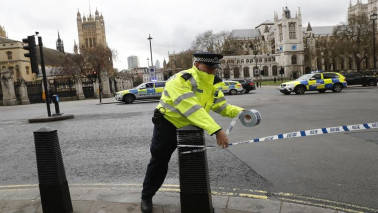 UK police make seven arrests in raids linked to investigation into attack on Parliament