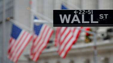 Wall Street flat as banks, Amgen weigh; Adobe rallies