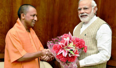 India has touched new heights under PM Modi: Yogi Adityanath