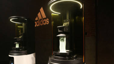 Adidas to mass-produce 3D-printed shoe with Silicon Valley startup