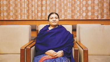 Nepal president Bidya Devi Bhandari leaves for India