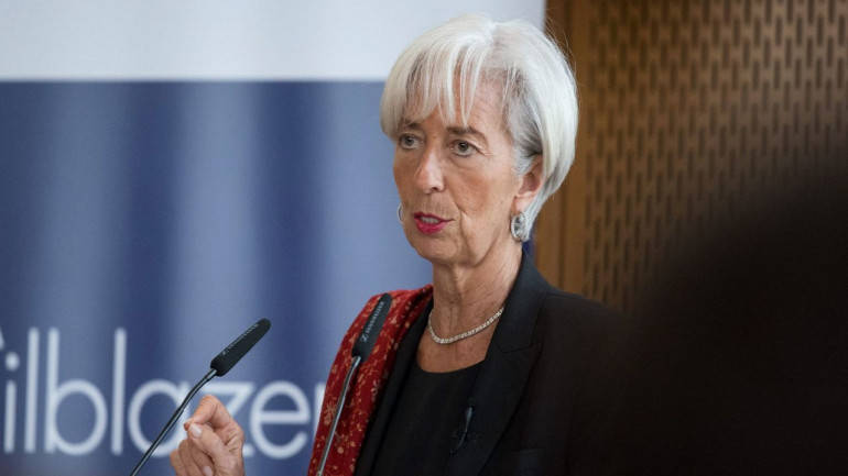Greek debt must be sustainable for IMF to join bailout: Lagarde