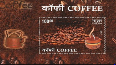 Now, coffee-scented stamps priced at Rs 100 from India Post
