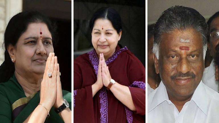 Jayalalithaa, OPS, Sasikala