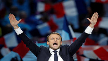 Emmanuel Macron, Marine Le Pen set for French election run-off