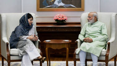Mehbooba Mufti likely to meet PM Modi, Congress chief on Article 35 A issue