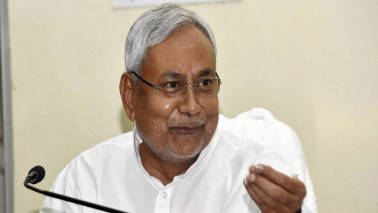 Nitish again demands spl category status for Bihar