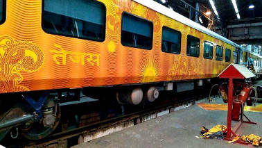 Luxurious Tejas Express to be flagged off today