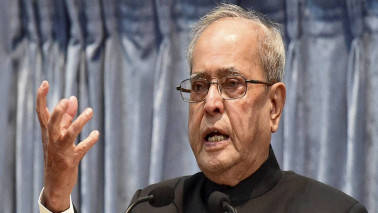 President Mukherjee calls Aadhaar a watershed event, praises Centre for digital push