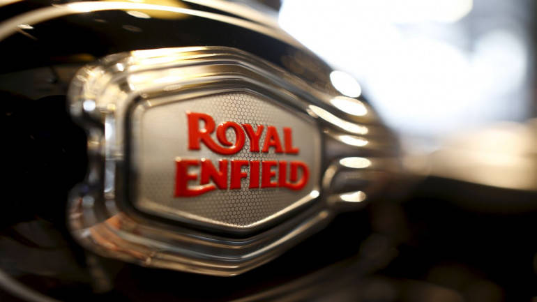 Is this the first picture of Royal Enfield's new 750 cc bike?