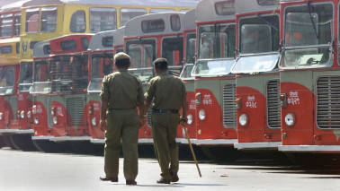 BEST buses stays off roads on Monday, workers on strike