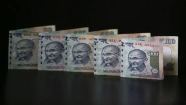 Rupee gains against USD after first round of French election