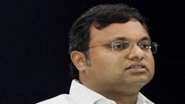 Have done no wrong, says Karti Chidambaram