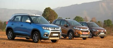 Hyundai i20 Active vs Maruti Brezza vs Honda WR-V, find out which entry-level crossover is the best