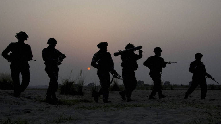 2 militants killed, 3 armymen injured in DPS gunfight