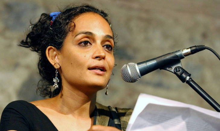 Tie Arundhati Roy to jeep instead of stone-pelter, says MP Paresh Rawal