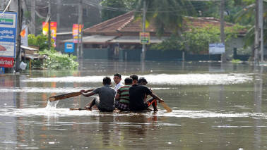 Sri Lanka floods: Indian Navy teams deployed; death toll rises to 177