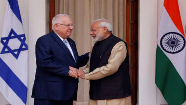 PM Modi calls on Israeli President, discusses ways to boost ties