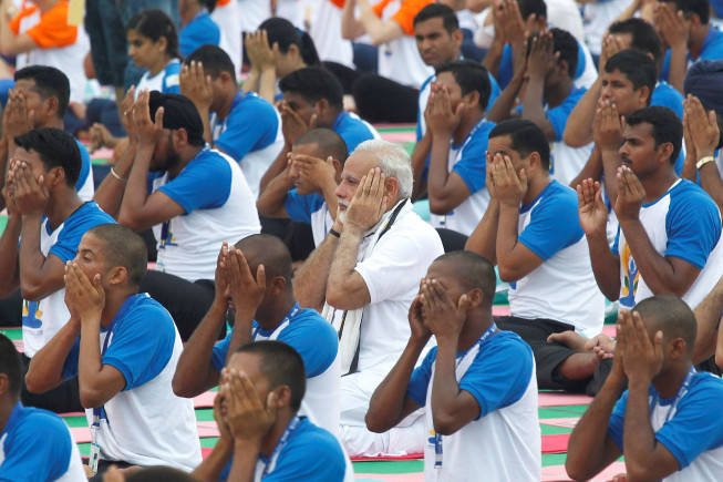 Over 90,000 inmates to perform asanas on International Yoga Day