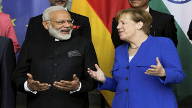 Angela Merkel wants to foster India ties, softens message on US as Trump scolds