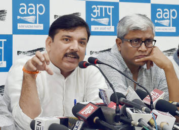 AAP demands SC-monitored probe into Patidar leader's allegation against BJP