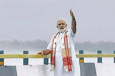 Narendra Modi on two-day visit to Gujarat from tomorrow