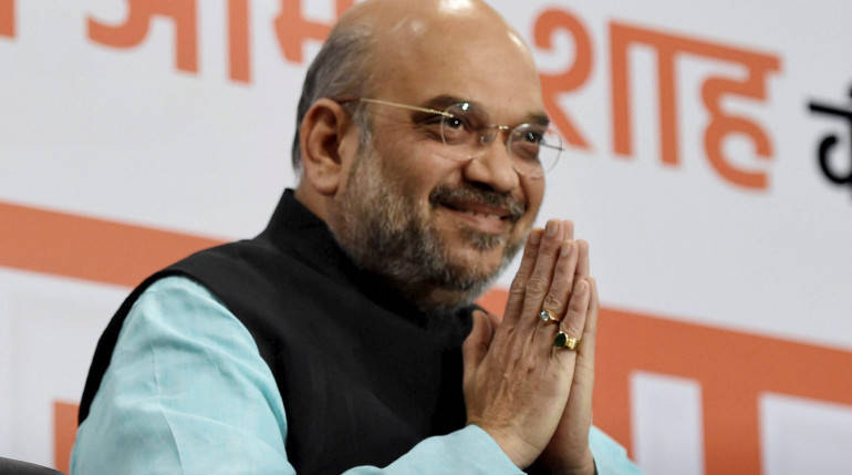 Amit Shah sets 150-seat target for BJP in Gujarat polls