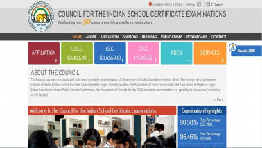 ICSE Results 2017: How to check your Class 10 exam results on cisce.org